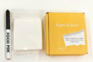 食べれる紙「kamihime」