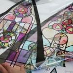 ステンドグラスの傘